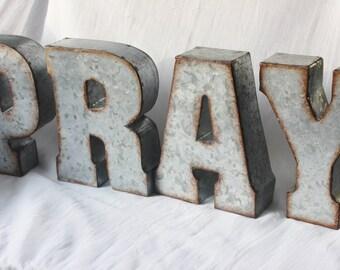 pray letters   etsy