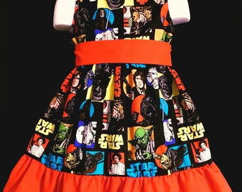 Sleeveless Summer Star Wars Rebel Boutique 12/18M 24M/2T 3T/4T 5/6 Pageant New