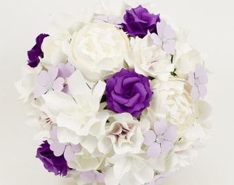Paper Bouquet - Customize your Style and Colors - Made To Order