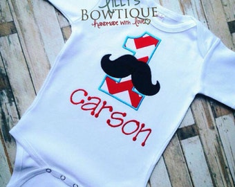 Mustache First Birthday Shirt,Mustache Birthday Shirt, Custom Mustache Birthday Shirt, Boys Mustache Birthday Shirt, Any Age