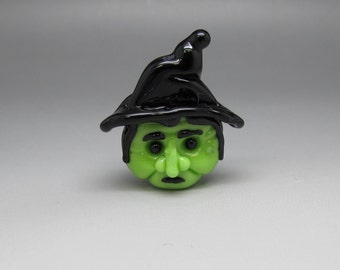 Hilda Witch - Lampwork Focal Bead