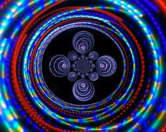 STARDUST Strobe LED Hula Hoop - CUSTOM!