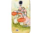 Book Fairy Samsung Art Case