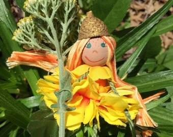 Flower Fairy Doll Marianne Marigold