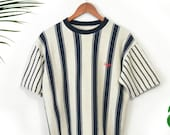 Vintage 90s GUESS striped t shirt