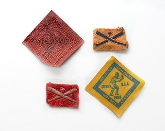 1950s Cub Scout Merit Badges for Sports