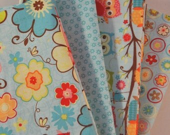 Happy Flappers 4 Fat Quarters Bundle for Riley Blake, 1 yard total
