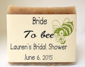Bride To Bee Soap Favors, Bridal Shower Soap Favors, Custom Label, Bridal Shower Favors, Wedding Shower, Bride to Bee