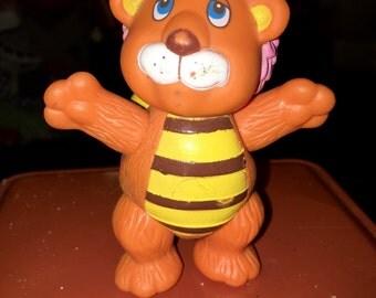 vintage 1980's Disney wuzzles poseable action figure toy bumblelion bumble lion bee