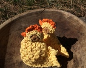 Sale** Yellow Chick Easter Egg Cozy Crochet Chicken
