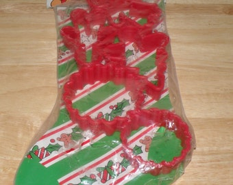 Christmas Cookie Cutter set Sealed Package