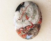 Multi-color Spiderweb Agate Gemstone Pendant Bead for Necklace Boho Chic Jewelry Supply Focal Bead