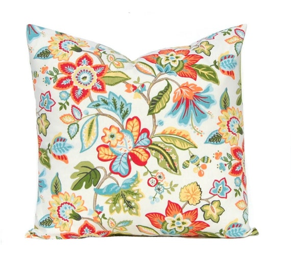 One Throw Pillow Cover Decorative Pillow Cover Tropical