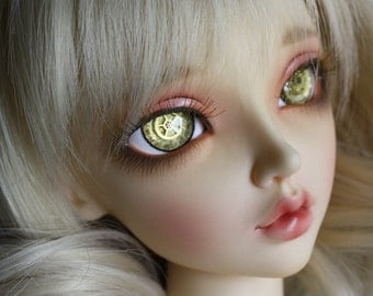 16mm Bjd eyes Doll eyes Hand made Steampunk eyes IN STOCK NOW !!!