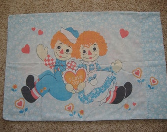 Raggedy Ann and Andy Pillowcase