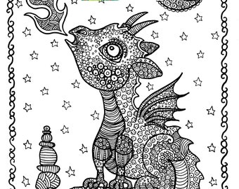 Unicorn Coloring Pages Coloring Adults Instant Downloads Pages To Color For Adults