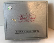Trivial Pursuit silver screen edition with extra cards vintage games