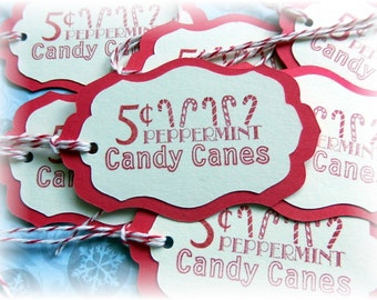 Peppermint Candy Canes 5 cents Tags (8)