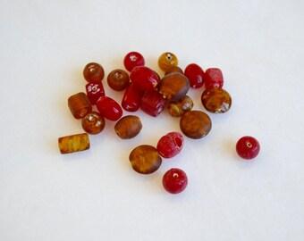 DESTASH - Rust Red Mix - 30 Grams - SALE