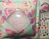 I Spy Bag Butterflies Girls themed contents seek and find, travel toy, party favor,autism sensory occupational therapy