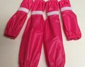 Bright Candy Pink Dog Leg Protectors 4 piece Standard Poodle size set