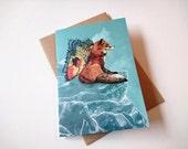 Flying Fox // Greeting Card