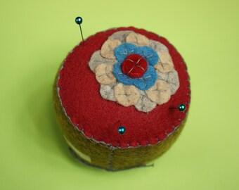 Sew Many Petals Pincushion