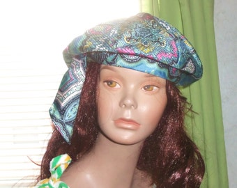 50s Funky Paisley Hat