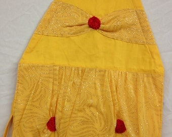 SPECIAL! Belle Inspired Girls' Apron with free purse