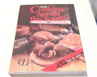 Cooking Across the South: Favorite Regional Recipes, Lillian Marshall, Southern foods cookbook