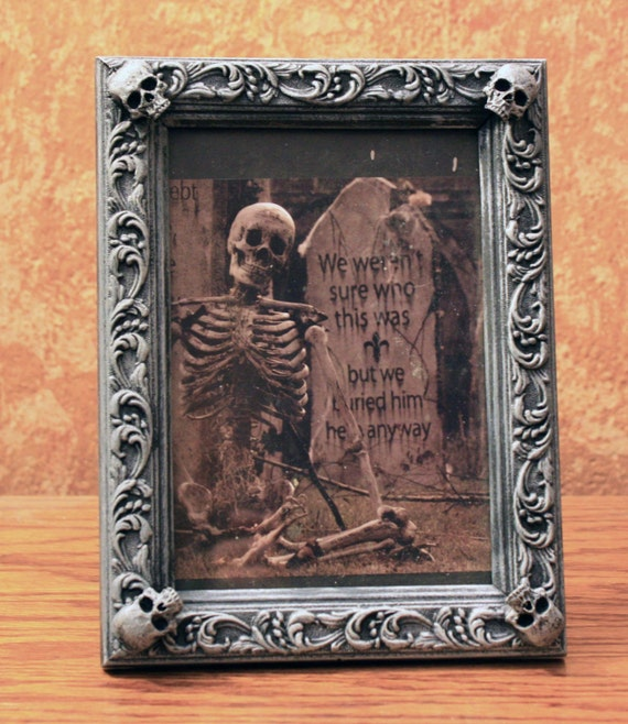 Halloweenified 6.5 x 4.5  Picture Frame