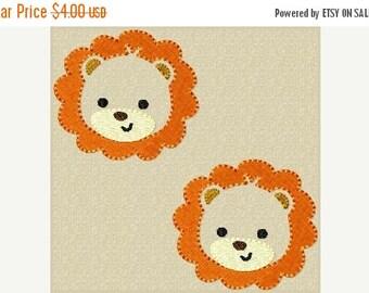 ON SALE Lion Feltie Embroidery Design