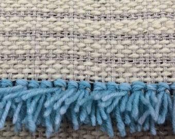 Hand Woven Rya Rug Backing Fabric 50 cm width