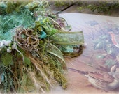 Terry--Reserved--Bird nest - Knitted Bird nest - RESERVED for Terry