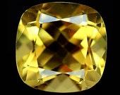 CITRINE (24053) Sparkling! 11mm Honey Yellow Citrine (Quartz)