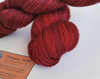 Cherry Tart:  Lux MCN Sport Wt Yarn  4256
