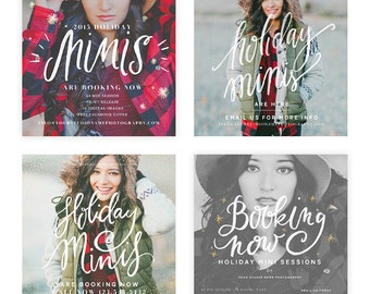 Holiday Minis 2015 Blog, FACEBOOK AND INSTAGRAM Ready Templates vol 3