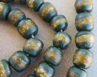 African Kente Glass Beads