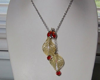 Lucky Lady Bug Necklace