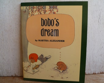 "Vintage School Book ""Bobo's Dream"" Martha Alexander"