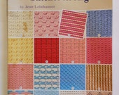 Crochet Patterns - 101 Stitches for Afghans - Vintage Craft Book for Crochet - American Needlework