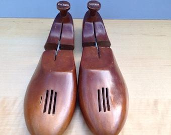 Antique Chernin Wood Shoe Stretcher - Vintage Home Decor - Fun Fathers Day Gift, Mantique Home Decor, Prop