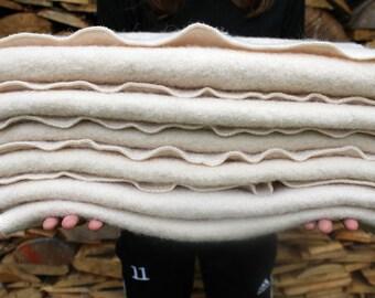 100% pure Wool Puddle Pad / change pad