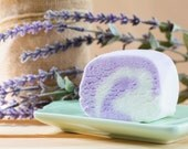 Lavender Bubble Bar - Solid Bubble Bath, Free Shipping, Gifts for Her