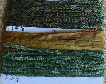 Embellishment Fibers - The Grass is Greener