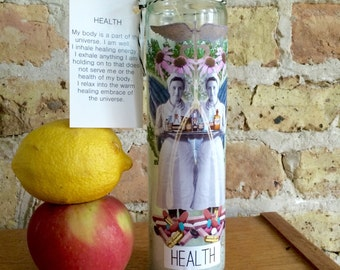 HEALTH Spell Altar Candle