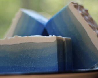 Fresh Snow Handmade Soap - Made in Minnesota - Clean Laundry Scent