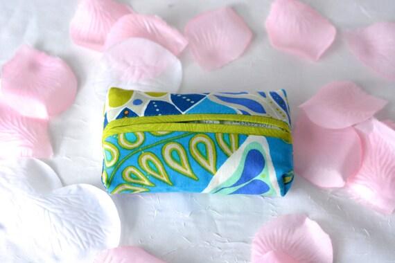 Bachelorette Party Favor, Kleenex Pocket Tissue Holder, Handmade Travel Tissue Case, Wedding Favor, Bridal Shower Gift, Office Gift