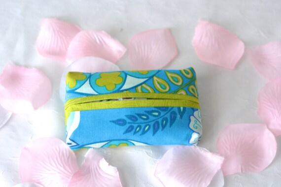 Bachelorette Party Favor Gift, Kleenex Pocket Tissue Holder, Handmade Travel Tissue Case, Shower Favor, Birthday Party Favor, Office Gift