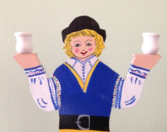 Swedish Vintage Candle Holder